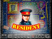 Игровой автомат на рубли Резидент